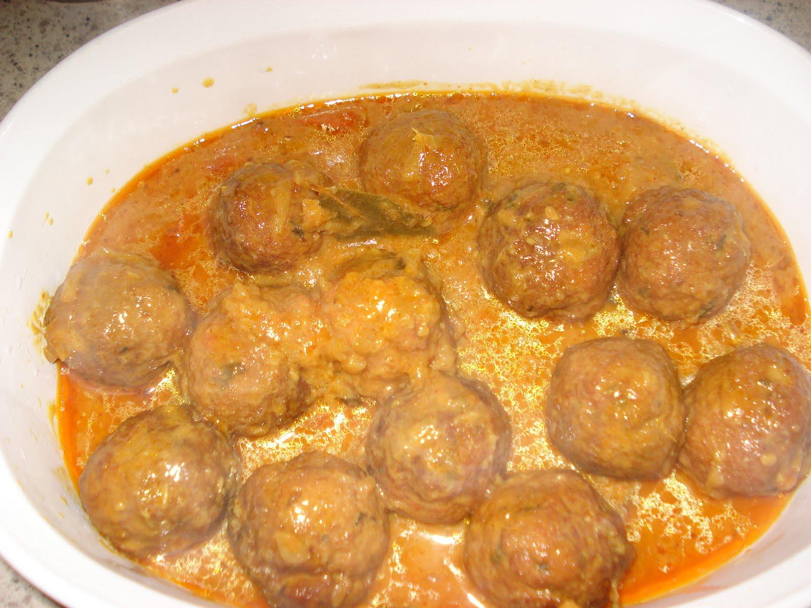 mama's secret recipes traditional lamb kofta curry