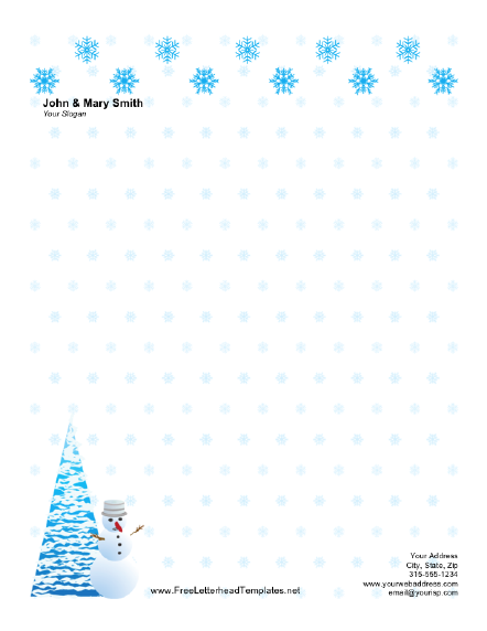 Holiday Templates Letters