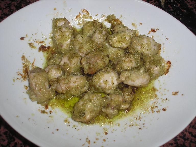 Foro de hogarmania tacos de lomo de conejo al pesto de - Como se hace la salsa pesto para pasta ...