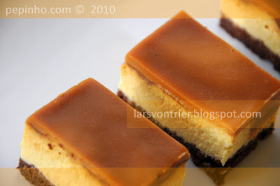 Tarta de queso y caramelo