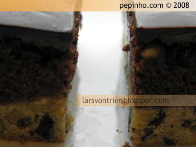 Pastel de Coca Cola y chocolate blanco