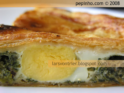 Pasqualina (empanada de espinacas, ricotta y huevo)