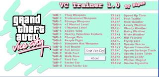 mega trainer gta vice city