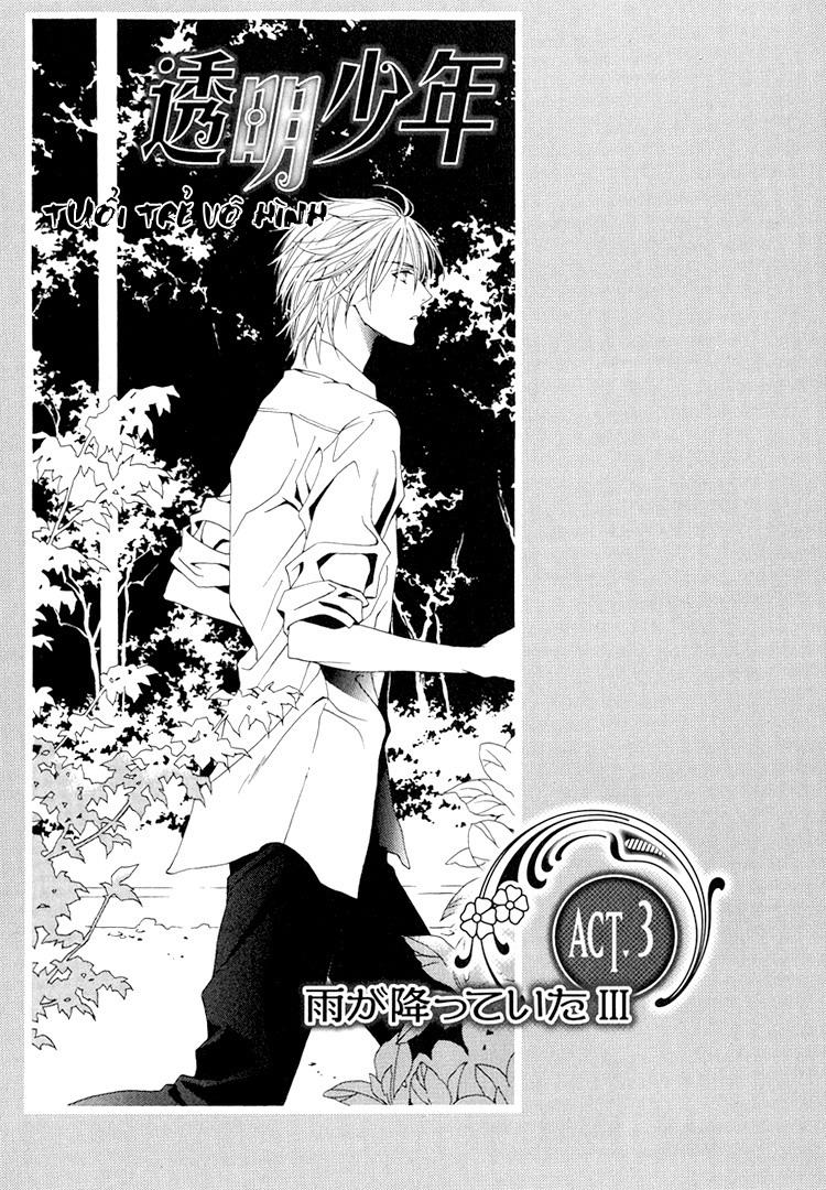 Toumei Shounen chap 3 - Trang 3