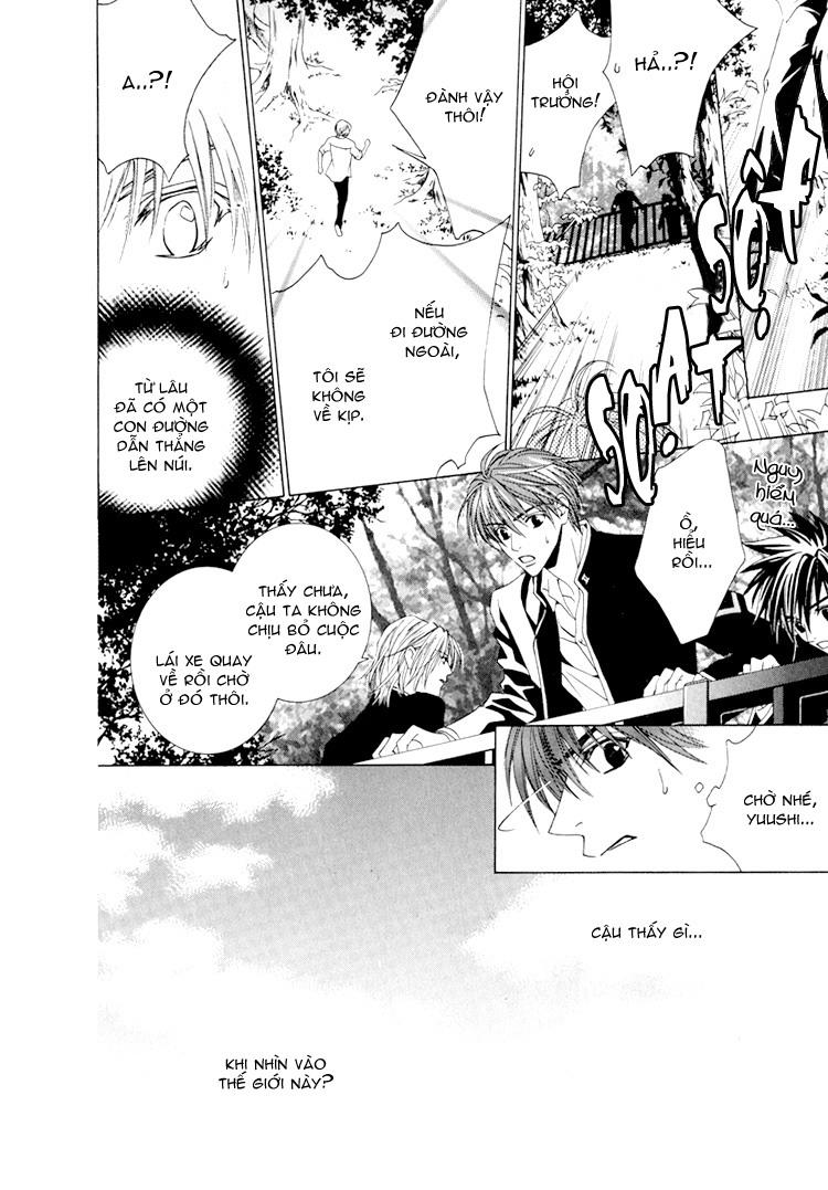 Toumei Shounen chap 3 - Trang 12