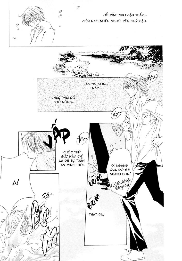 Toumei Shounen chap 3 - Trang 13