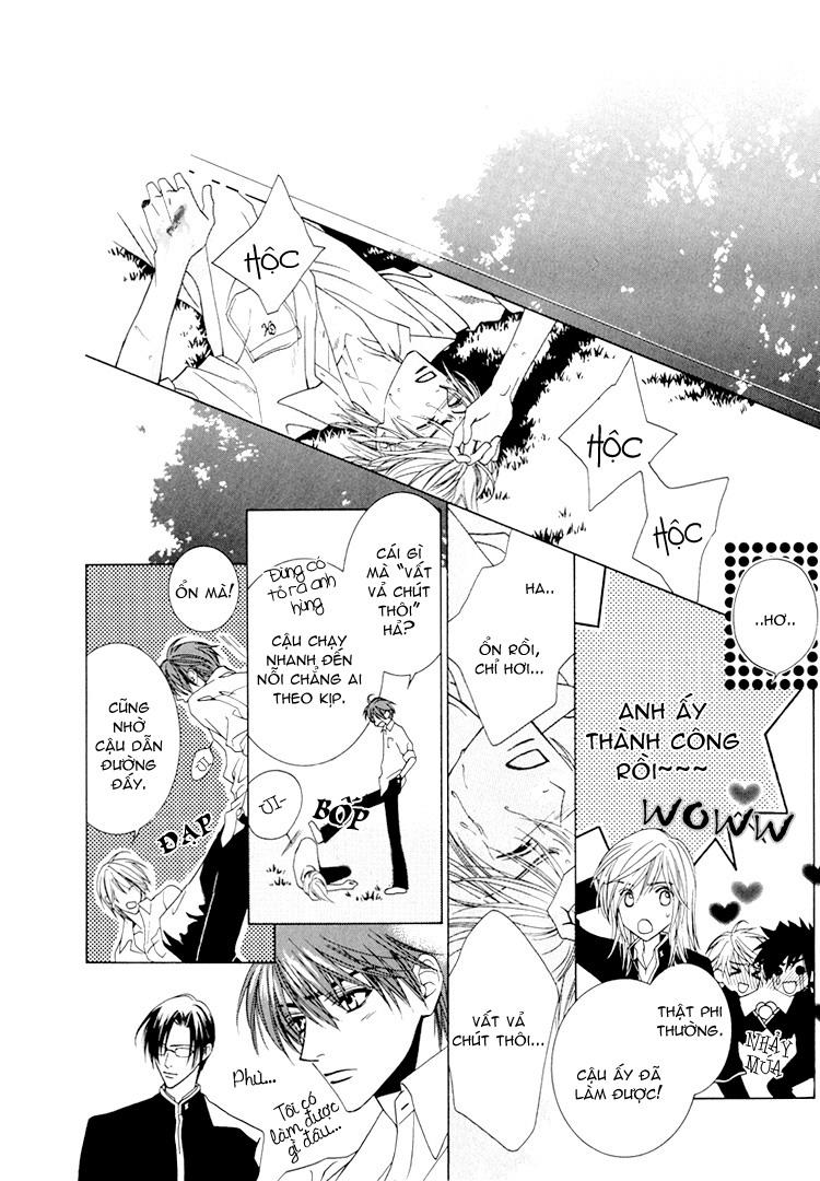 Toumei Shounen chap 3 - Trang 19