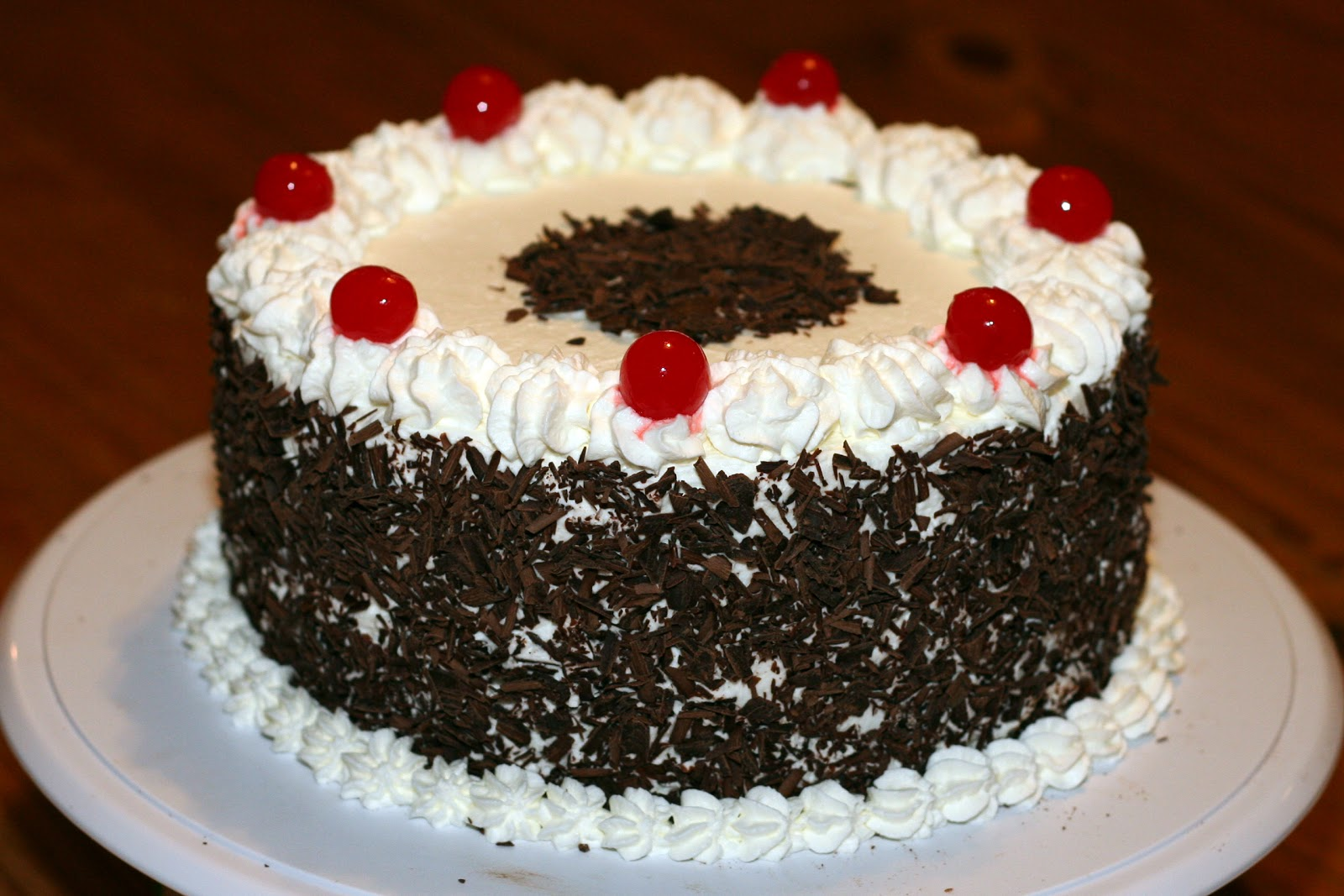 Cake Black Forest Birthday : Cakes by Nicola: Black Forest Cake