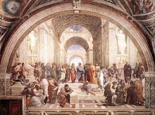 Escola de Atenas - imagem do século XVI