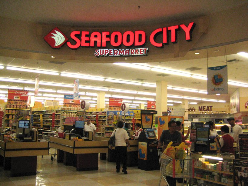 Food comma market research seafood city for Fish market las vegas