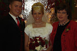 Darlene, Bride and Groom