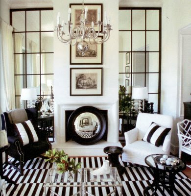 Home Interior Design and Decorating Ideas: Black White Home ...