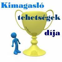13. DÍJ - KIMAGASLÓ TEHETSÉGEK DÍJA SOLYÁTÓL (2010. AUGUSZTUS 4.)