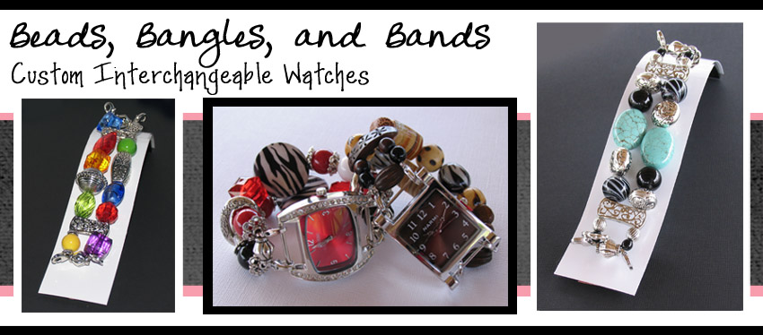 Beads, Bangles, and Bands Interchangeable Watch Bands