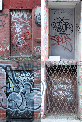 Graffiti letters style digital