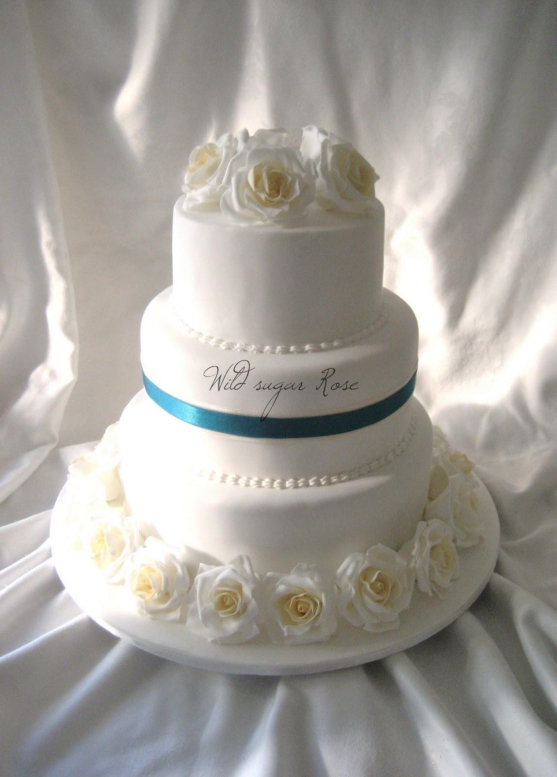 wild sugar rose wedding cakes cupcakes and cake. Black Bedroom Furniture Sets. Home Design Ideas