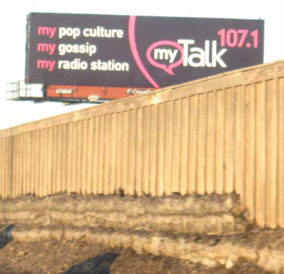 Another billboard for My Talk 107.1