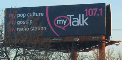Billboard for My Talk 107.1