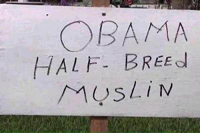 Obama half-breed muslin