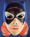 Vintage plastic Batgirl mask