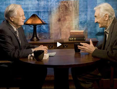 Bill Moyers interviewing Howard Zinn