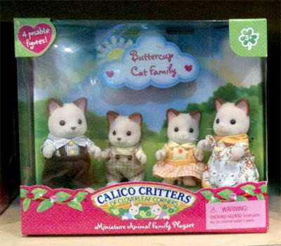 Calico Critters cats