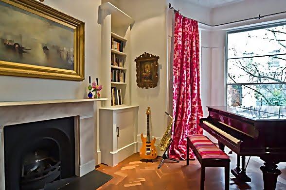 Large and Colouful House on Portland Road in London 5 - Renkli Ya�am Alanlar� Sevenler ��in Rengarenk D��enmi� Bir Ev