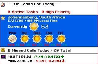 برنامج مهم لـ معرفة حالة الطقس والمواعيد وقوة البطاريه ومميزات كثيرهـ