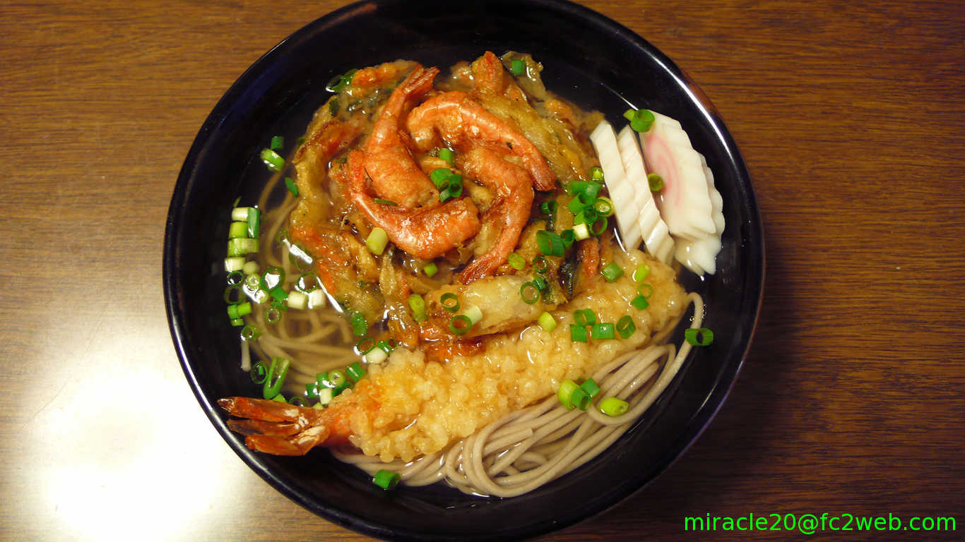 miracle20 from Japan: Toshikoshi-soba (年越しそば) in Ohmishoka