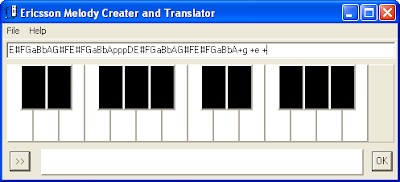 Ericsson Melody Creator and Translator