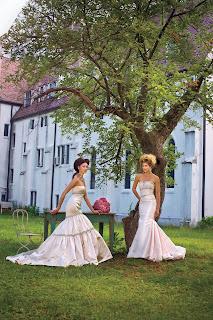 Kenneth Pool, Badgley Mischka Pink Wedding Dresses