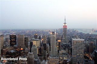 The could be your view of NYC from your honeymoon suite!
