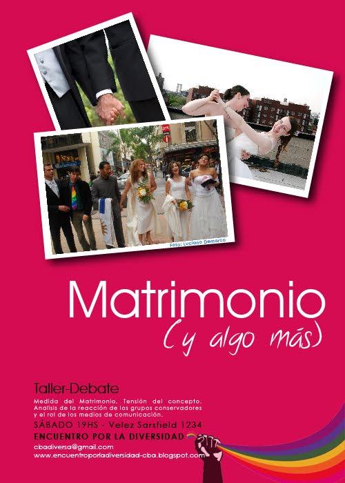 Matrimonio Y Algo Mas : Taller debate matrimonios y algo más argentina
