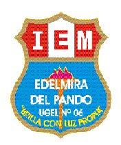 """"""" IEM.EDELMIRA DEL PANDO """""""