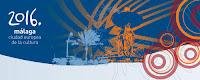 Enlace de la web oficial para la candidatura de Málalga 2016 Capital Europea de la Cultura