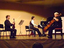 Trio op.49 de Mendelssohn em Ponta Grossa, com Max Scheffler (violino) e Fernando Lebkuchen (cello)