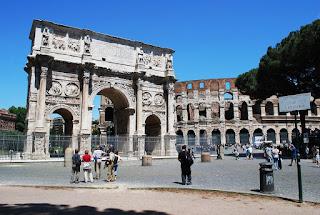 Constantine's Arch & Colloseum