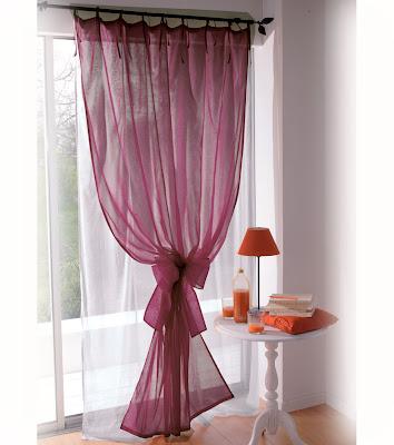 cortinas de corte ms tropical para una casa de campo o ms romtico para una habitacin matrimonial o de una seorita soltera