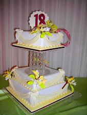 Torta Madelei- 18 años