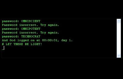 Genesis.doc: A Criação via linha de comando.