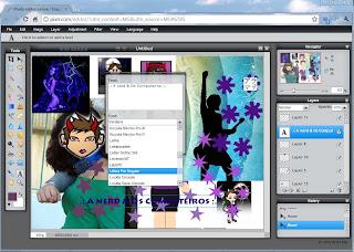 View do Pixlr - O Photoshop Online