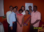 Our Pranic Healing Team with Managing Trustee
