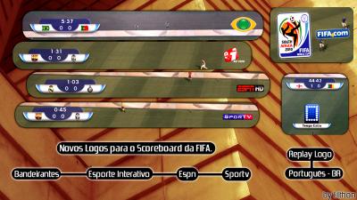 Placar FIFA Novos Logos de TV Ezj3ue