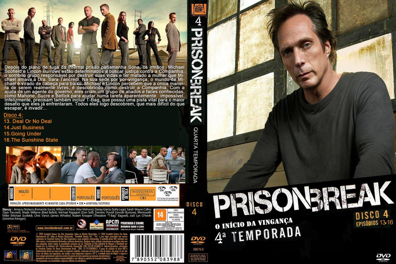 Prison Break Temporada 4 Related Keywords & Suggestions - Prison ...