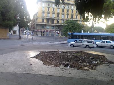 Un vulcano in Piazza San Giovanni. Speriamo erutti