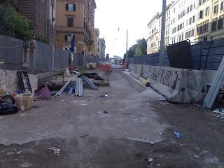 Ancora su Via Emanuele Filiberto. Una delle strade più martoriate di Roma