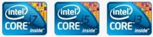 3 Branding Chipset Intel