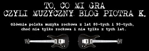 To, co mi gra czyli muzyczny blog Piotra K.