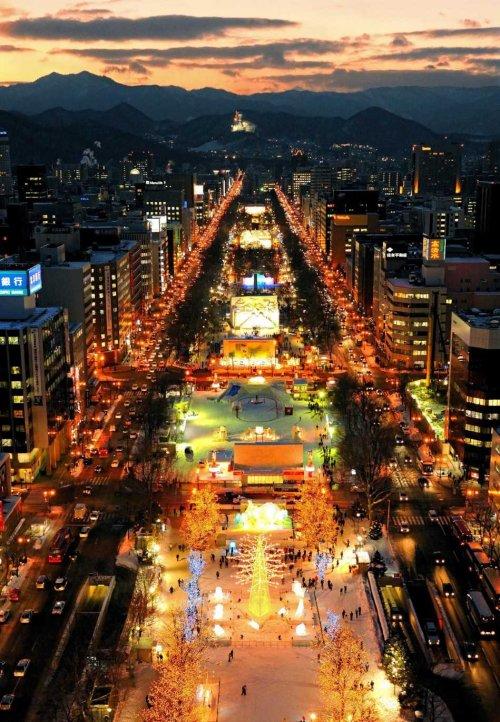 Sapporo Japan Snow Festival