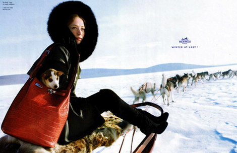 Hermes Winter Campaign